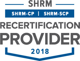 SHRM Recertification Provider CP SCP Seal 2018